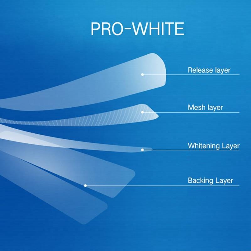 Sin cajas Crest 3D White LUXE blanqueamiento dental, 10 bolsas (20 rayas)