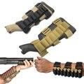 Shooter tático do Antebraço Espingarda Shell Bolsa de Munição 12GA Cartucho Estoque Titular