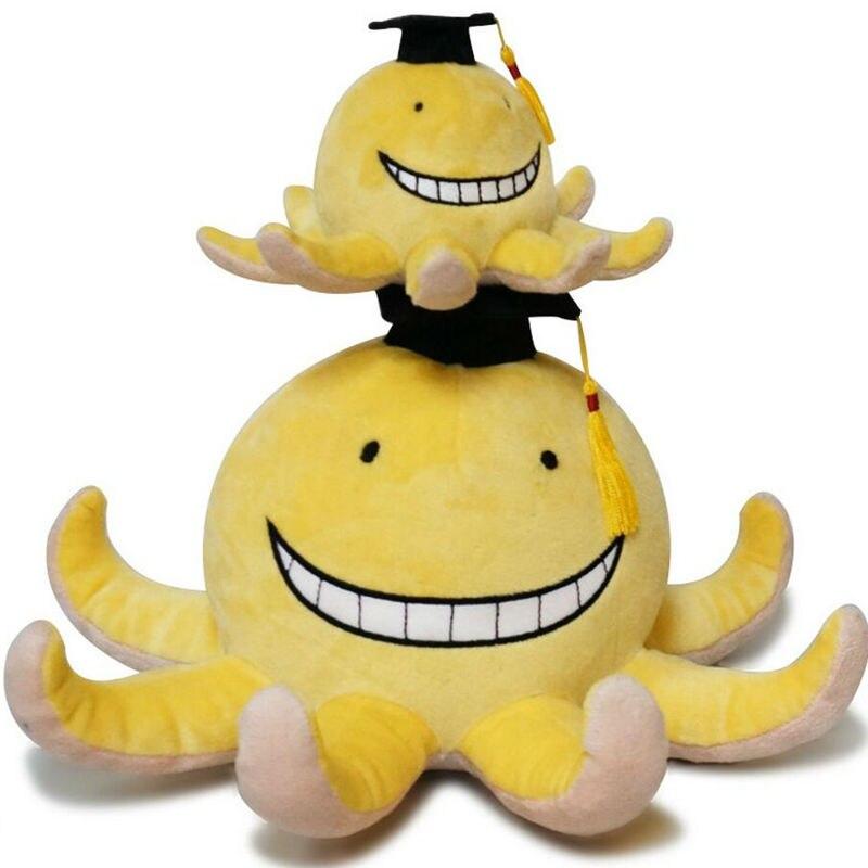 45cm Free shipping Assassination Classroom Korosensei Plush Stuffed Toys lovely