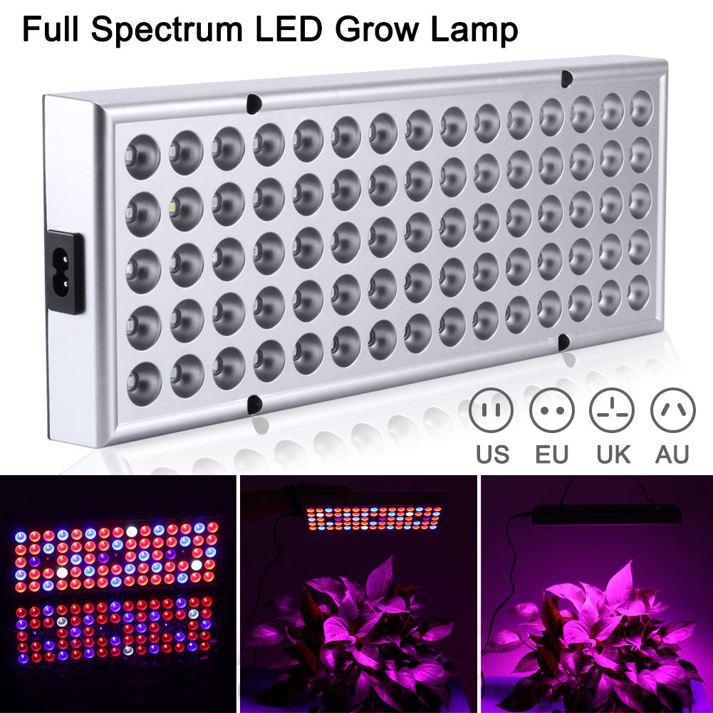 LED Plant Grow Light Lamp Full Spectrum 25W For Flower Seeds Greenhouse Indoor LKS99