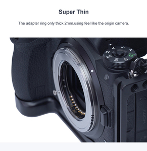 Image 4 - TECHART TZE 01 para Sony FE montaje de lente para Nikon Tamron Sigma F, montaje de lente para nikon Z6 Z7, adaptador de lente de cámara de enfoque automático