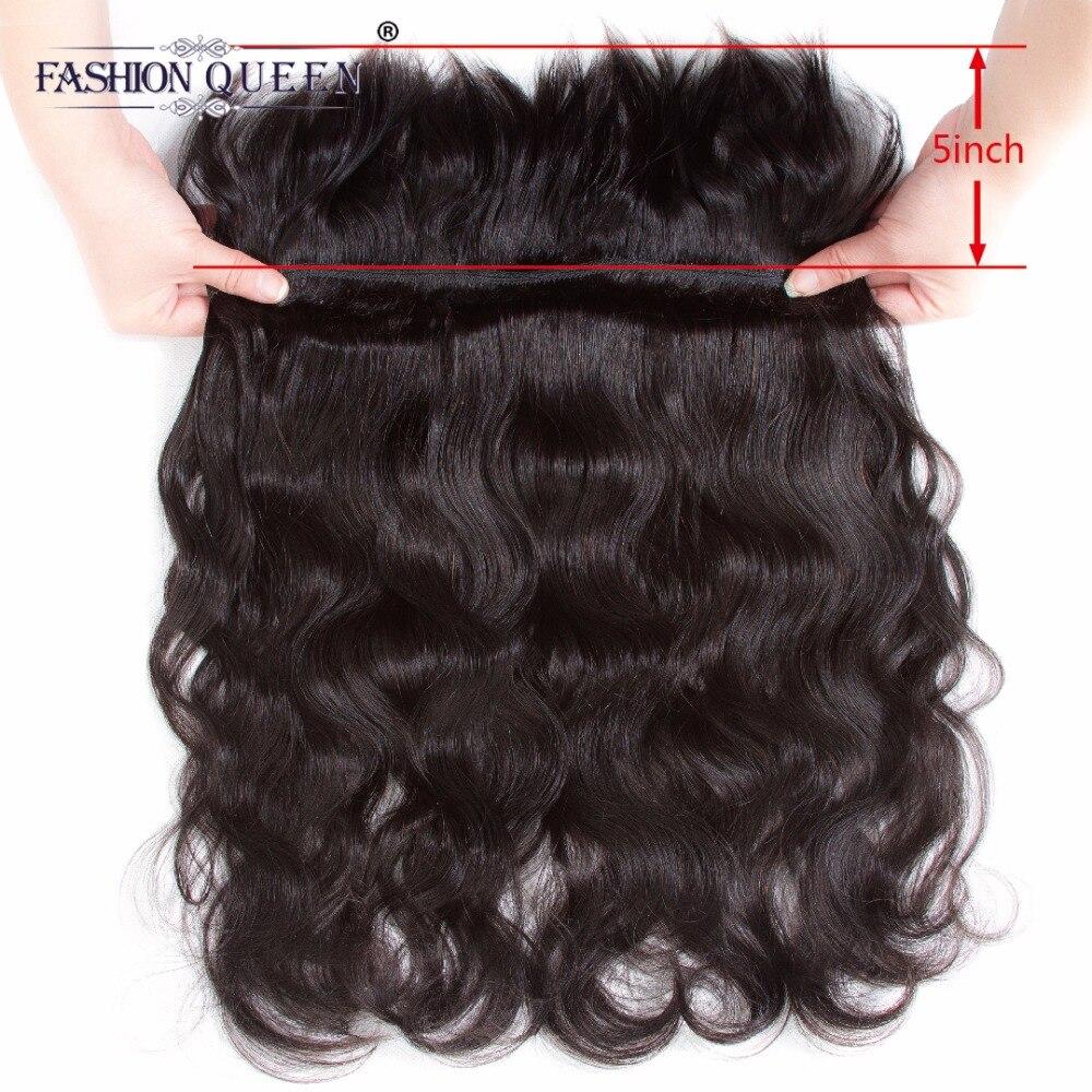 Fashion Queen Hair Braid in Bundles 7A Malaysia Body Wave Human Hair 3 Bundles 120g/Pc Braid in Human Hair Extensions