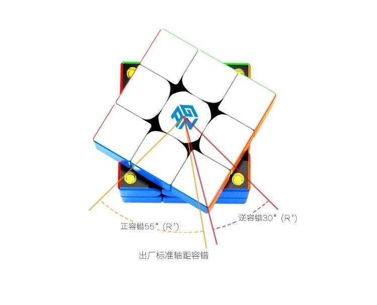 Nouveau GAN 354 M 3x3x3 Magico Cube Gans vitesse magnétique stabilité jeu lisse haut de gamme magique Cube Puzzle torsion jouets éducatifs - 2