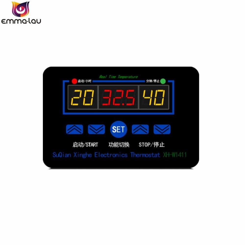 XH-W1411 10A AC 100-240V LED Digital Temperature Controller Thermostat Control D