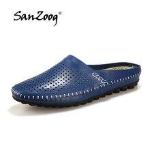 0cf8982b27 Homens verão Sapatos Estilo Italiano Dos Homens de Luxo Da Marca Penny  Deslizamento na Condução Mocassins