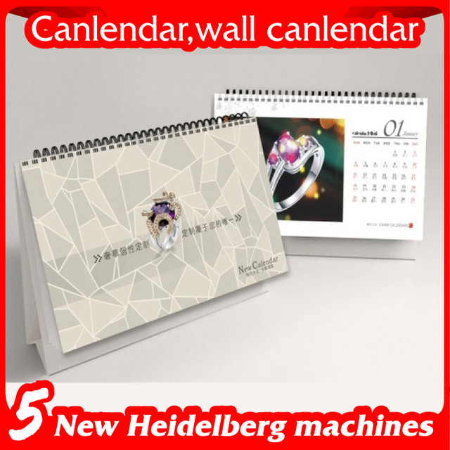 customize jewelry calendar desk calendar 2016 office table calendar