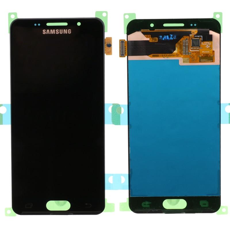 Original 4 7 SUPER AMOLED For SAMSUNG Galaxy A3 2016 A310 A310F A3100 LCD Display Touch Original 4.7'' SUPER AMOLED For SAMSUNG Galaxy A3 2016 A310 A310F A3100 LCD Display Touch Screen Digitizer Assembly
