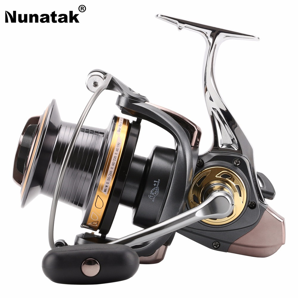 Nunatak Fishing Reel TYC8000 10000 12000 Spinning Reels 4.0:1/12+1BB 780g Professional  Sea Trolling Fishing Reel for Carp professional spinning fishing reel