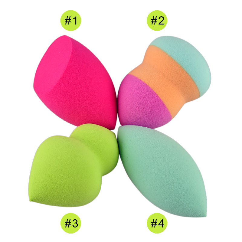 Hydrophilicity Puff NON LATEX COTTON Makeup Sponge Blender Blending Cotton Powder Puff Dry and Wet Brush Puff Miter Calabash