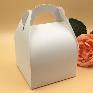 Image 2 - 30 teile/los Natürliche braun und weiß Box,Kraft Papier Verpackung Box, seife Box