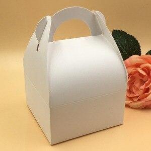 Image 2 - 30pcs/lot  Natural  brown and white Box,Kraft Paper  Packing  Box,soap  Box