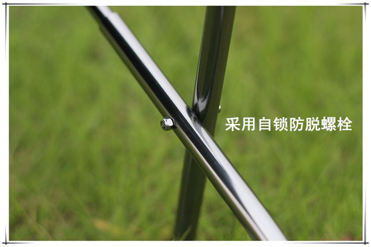 Super leggero in lega di alluminio pieghevole sgabello da pesca