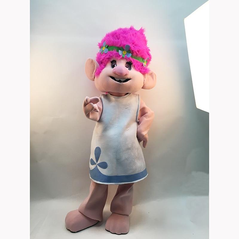 Nieuw Heet Mascottekostuum -Trolls-Complete Adult Outfit - Mascot - Carnavalskostuums - Foto 5