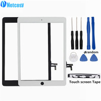 Netcosy A1474 A1475 A1476 Touch Glass Screen Digitizer Panel Repair Parts For IPad Air 1 Touch