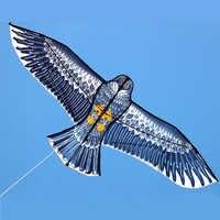 Cometa de águila grande de 180 cm con la mano de la cometa y la línea de cometas voladoras juguete al aire libre para los niños divertidos regalo muy bueno calidad