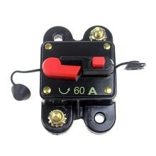 60A 80A 100A 150A 200A 250A 300A дополнительный автомобильный аудио встроенный автоматический выключатель предохранитель для 12 В защиты