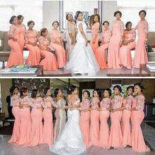 314234ea70 Bridesmaid Peach Dresses Promotion-Shop for Promotional Bridesmaid ...