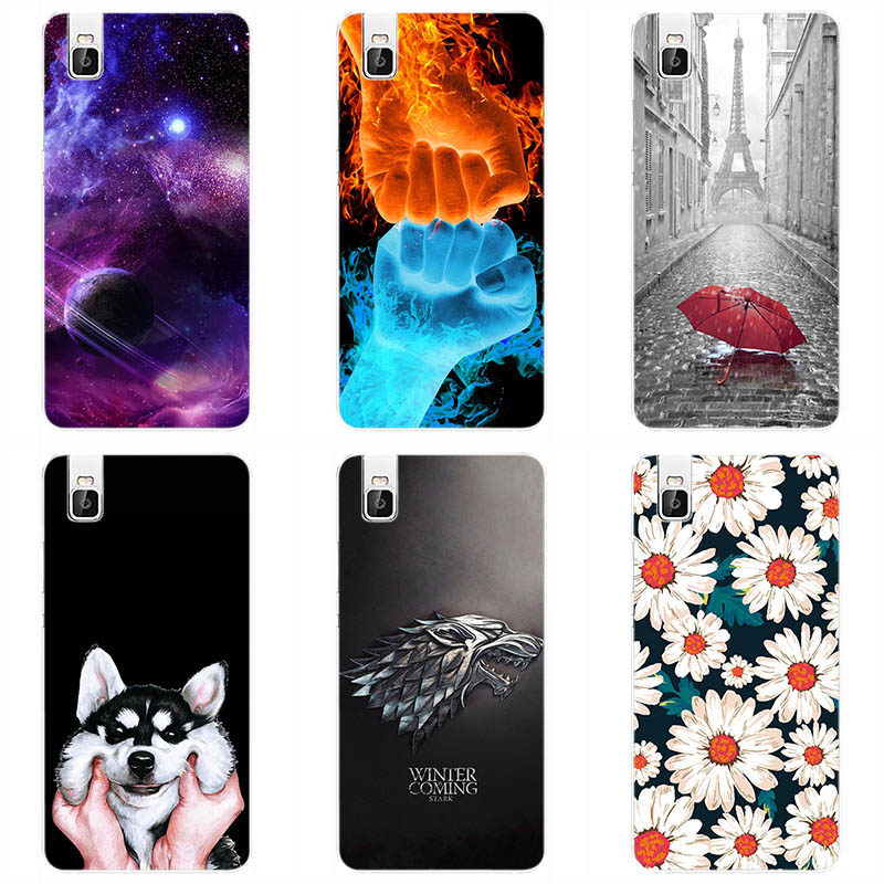 Soft silicone Cover Cases For Huawei Shot X Silicone Painting ...