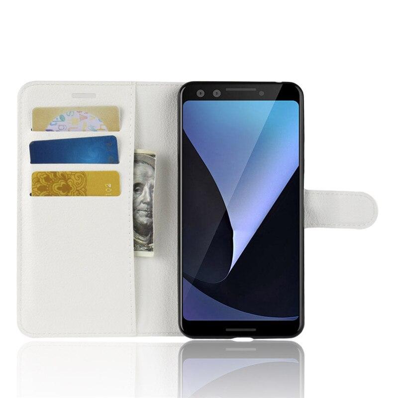 For Google Pixel 3 Case PIXEL3 Case Flip PU Leather Cover Phone Case For Google Pixel 3 Pixel3 Case 5.4 Inch Cover