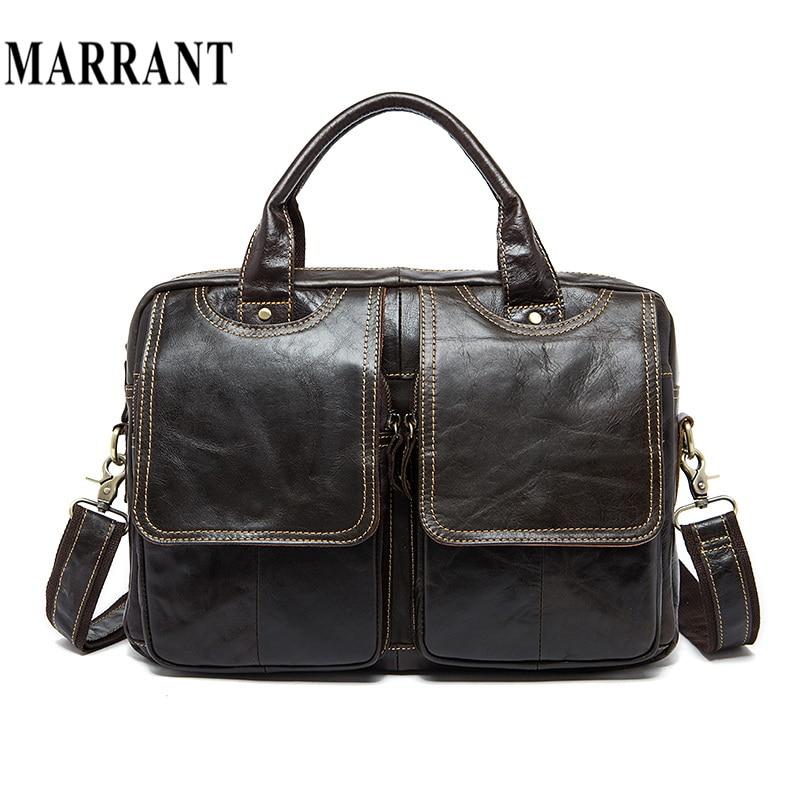 MARRANT Genuine Leather Men Bags