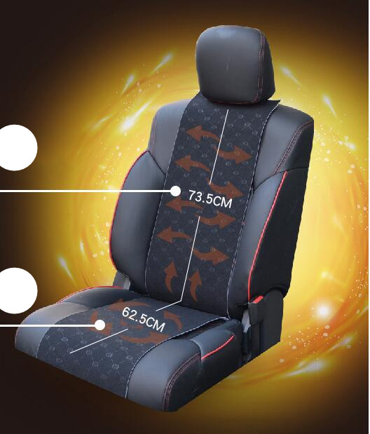 12V car heated seats /Winter car seat heater heating interior cushion warm support for universal auto with Car cigarette lighter