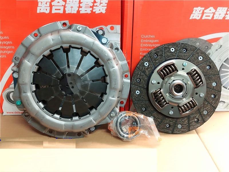 3 pièces/kit plaque de pression d'embrayage/disque d'embrayage/palier de déverrouillage pour Hyundai I20 KIA SOUL k3 Auto voiture moteur partie 4110026021