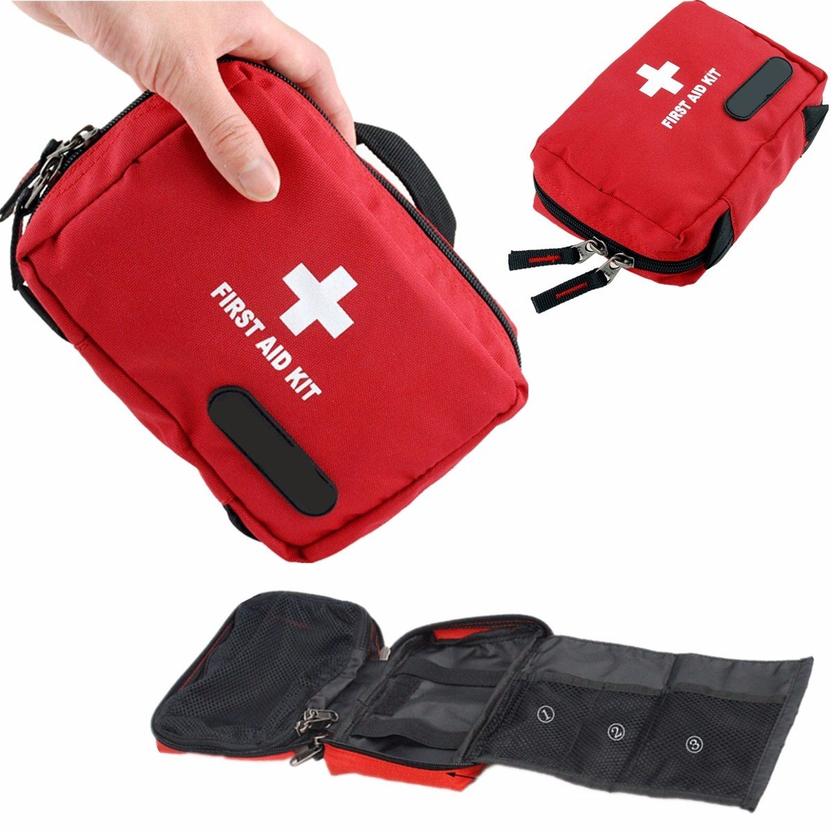 Outdoor Tactical Emergency bag Medical First Aid Pouch Bags Survival Pack Rescue Kit Empty Bag for outdoor Safety Survival