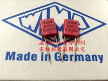 2019 hot sale 10pcs/20pcs Germany WIMA capacitor MKS4 250V0.33UF 250V334 330n P: 7.5mm Audio free shipping