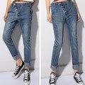Free shipping Women's Harem pants Casual Jeans Pants Plus size Long  Loose Denim Pants
