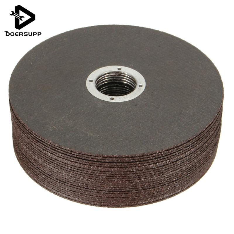DIY Power Tool Accessori 25 PCS Set Thin Metal Cutting Slitting Discs Stainless Steel 115mm 4