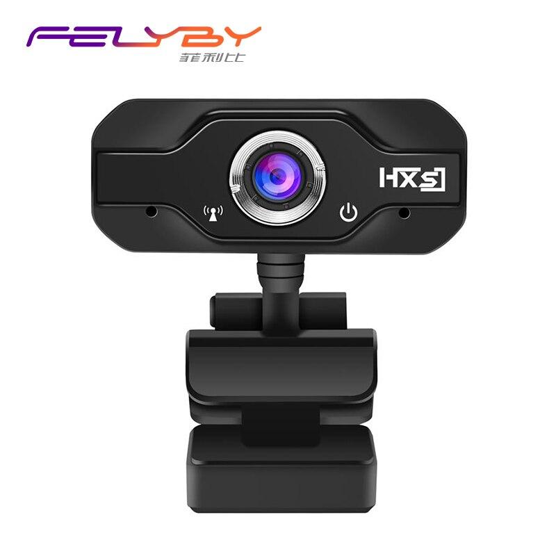 лучшая цена S50 720P HD webcam built-in 10-meter sound-absorbing microphone HD web camera speakerphone video cameras with 100 Megapixel
