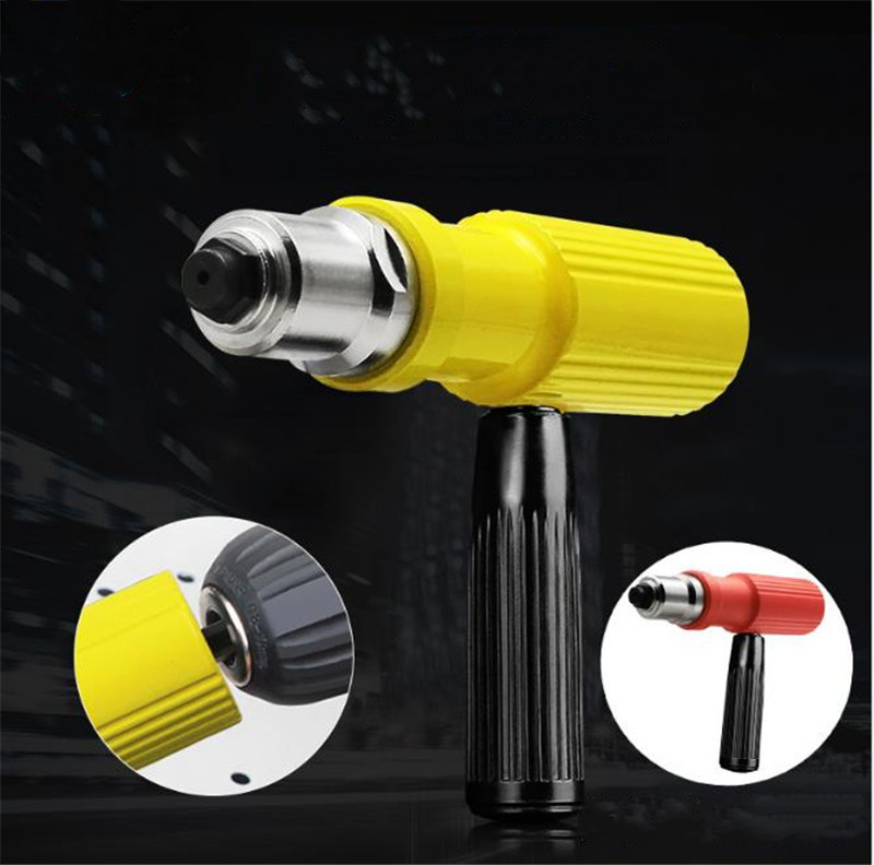 Electric Rivet Nut Machine Riveting Tool Cordless Riveting Drill Adapter Riveter Insert Nut Tools Suitable For 2.2 2.5 3.2mm