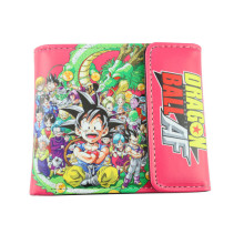 Janpaese Cartoon Dragon Ball AF Style Short Biofold Wallet Purse Bag Gift Boys Girls