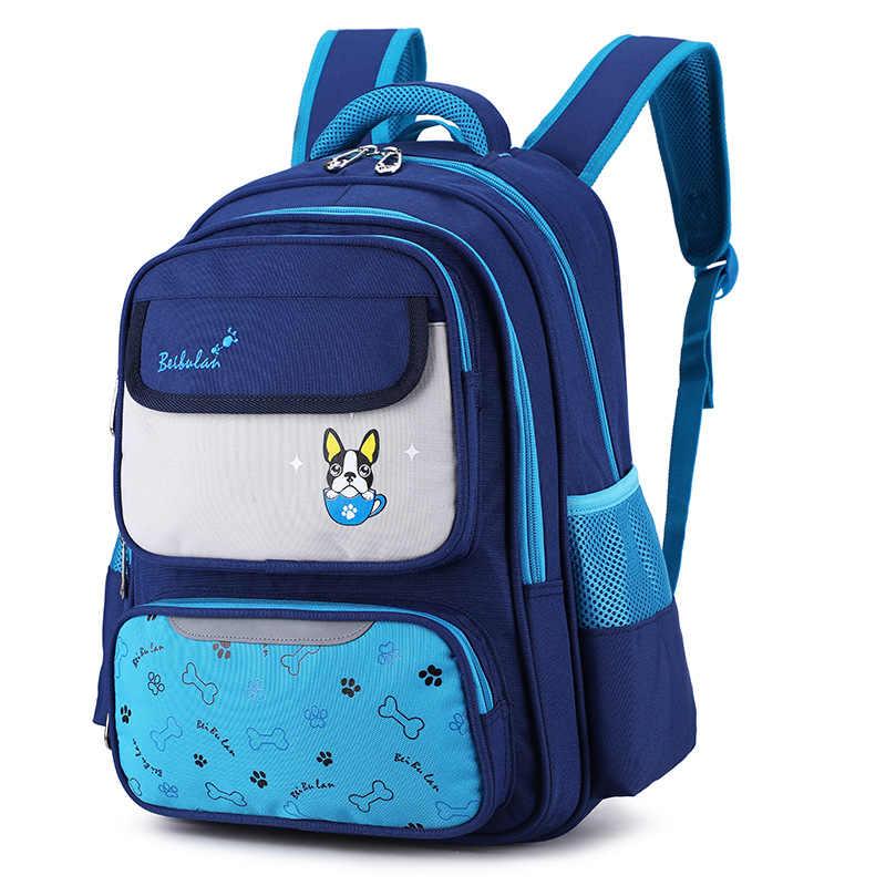 Wodoodporne dzieci torby szkolne dla dziewcząt chłopców tornister dla dzieci plecaki do szkoły podstawowej dzieci ortopedyczne plecak mochila escolar