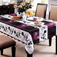 137X183cm Pastoral Plastic Tablecloth Waterproof Oilproof PVC Table Cover Wedding Tablecloth Home Textile