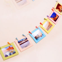 New Qualified 10pcs 6 Inch Creative Gift DIY Wall Hanging Paper Photo Frame Wall Picture Album(China)