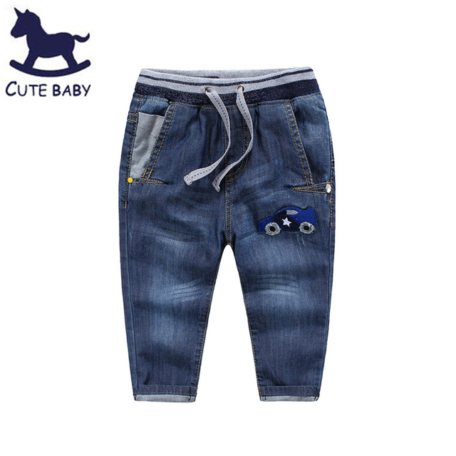 3309ee8d79160 Boys Jeans 2016 Spring&Autumn Style Fashion Jean Trousers for Boy Kids  Casual Jeans Denim Pants Children Clothing for 2-10Y