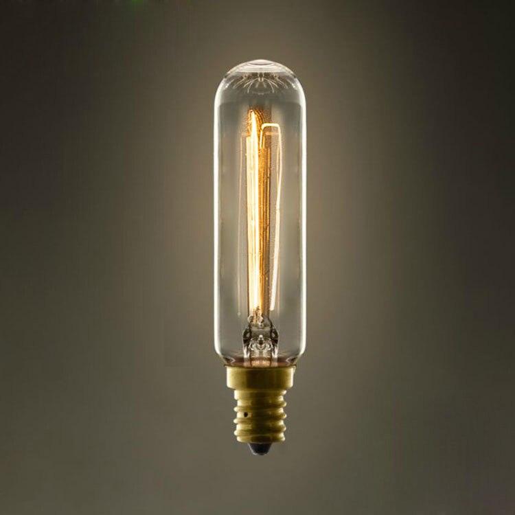 LightInBox AC 220 V À Incandescence Ampoule Rétro Edison Ampoule Pour Salon Décoration D22mm * H114mm E14 T22 Vintage Liht ampoule