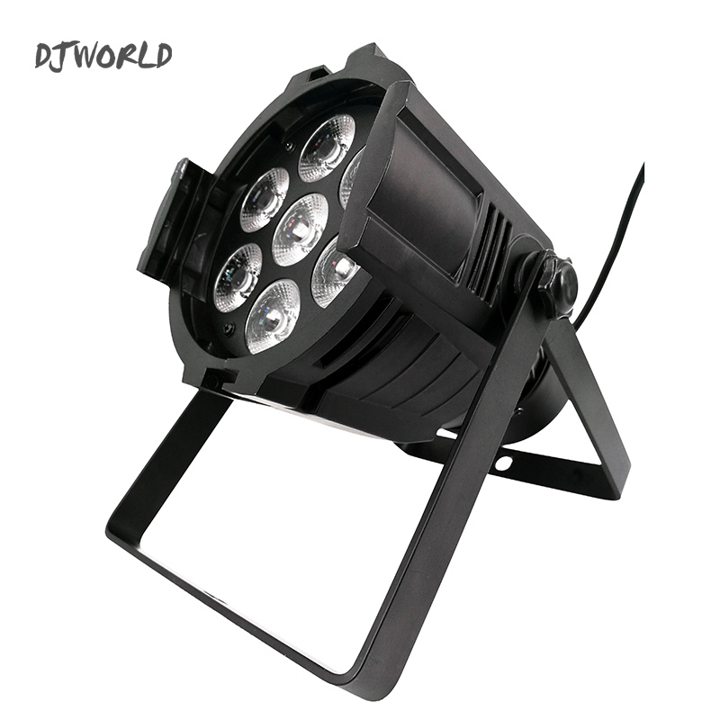 LED Par Can 7x12W Aluminum alloy LED Par RGBW 4in1 DMX512 Wash dj stage light disco party light Dj Lighting Ballroom 4pcs lot 100w cob led par can 4in1 rgbw color dmx 100w cob led par led dmx wash stage light ktv dj disco lighting free shipping
