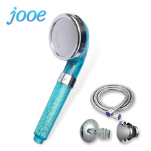 jooe bathroom water therapy shower anion spa hand hold shower water saving rainfall filter shower head - Filtered Shower Head