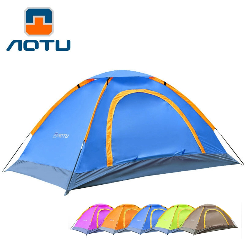 Outdoor Camping Tent 1 person Tents Portable Ultralight Double Layer Travel Tent Waterproof Snow Hiking msi g41m p23 original used desktop motherboard g41 socket lga 775 ddr3 8g sata2 usb2 0 micro atx