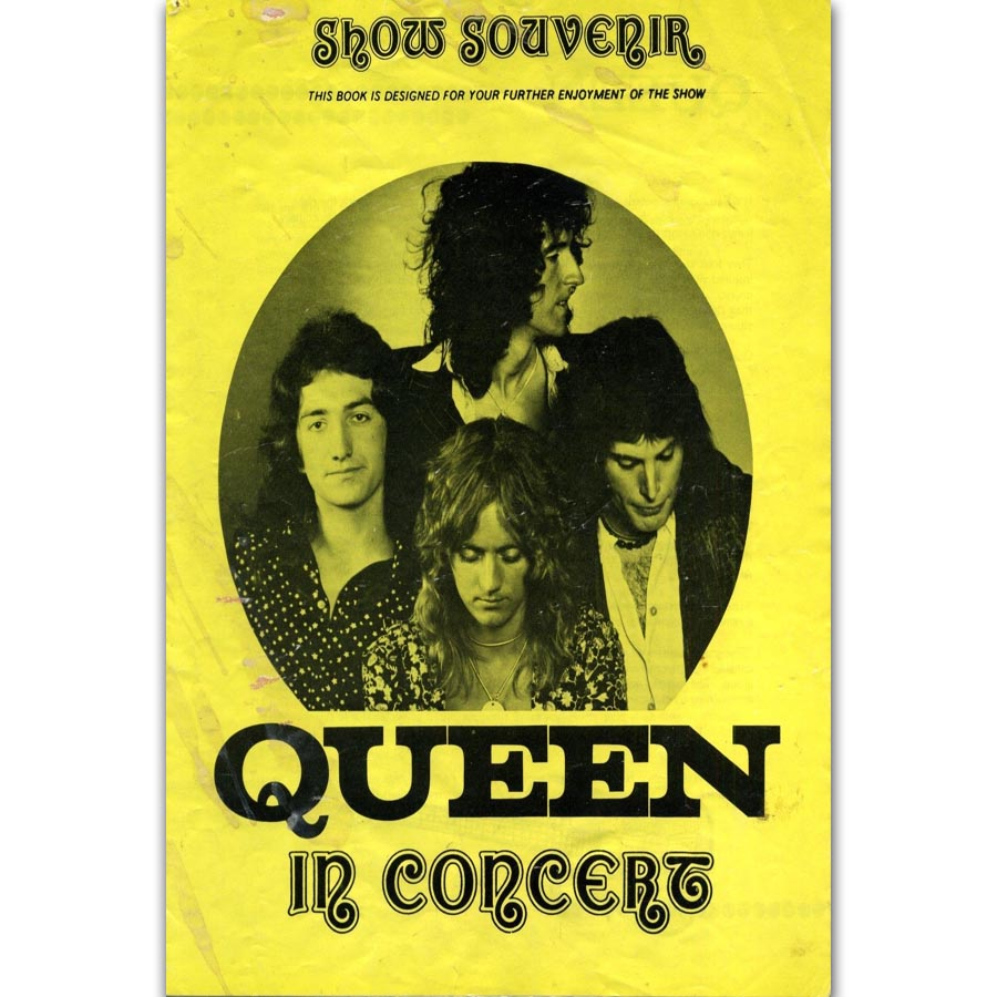 FX713 Queen In Concert Rock Metal Classic Music Band Group Cover ...