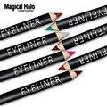 Halo 12 pçs/set mágico Colorido Conjunto de Lápis Delineador Duradoura Caneta Delineador Lápis de Olho À Prova D' Água Profissional Conjunto de Maquiagem Da Marca