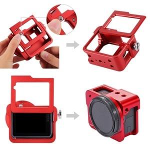 Image 3 - PULUZ Housing Shell For GoPro HERO 5 6 7 Black CNC Aluminum Alloy Hard Protective Cage Frame Case For GoPro Hero 2018