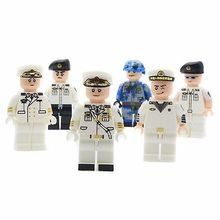 Army,Airforce Special,Navy Military Soldiers Set,Asian Troops Building Bricks Set