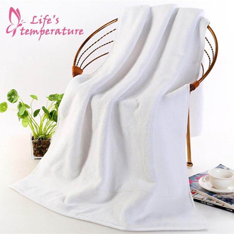 Thickened Bath Towel 70x140cm Soft Cotton Pure Cotton Absorbent Bath Towel Men Women Adult Soft Bath Towel Robe Beach Towel 005