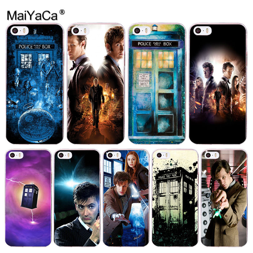 Cheap Price Maiyaca Doctor-who Soft Tpu Phone Case Cover For Apple Iphone 8 7 6 6s Plus X 5 5s Se 5c 4 4s Case Crease-Resistance Phone Bags & Cases Half-wrapped Case