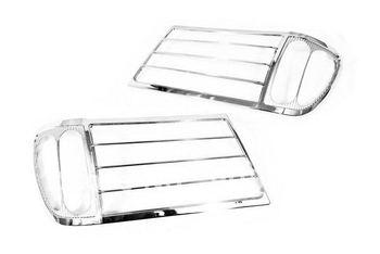 High Quality Chrome Head Light Cover for Toyota Land Cruiser FJ100 98-05 Free Shipping