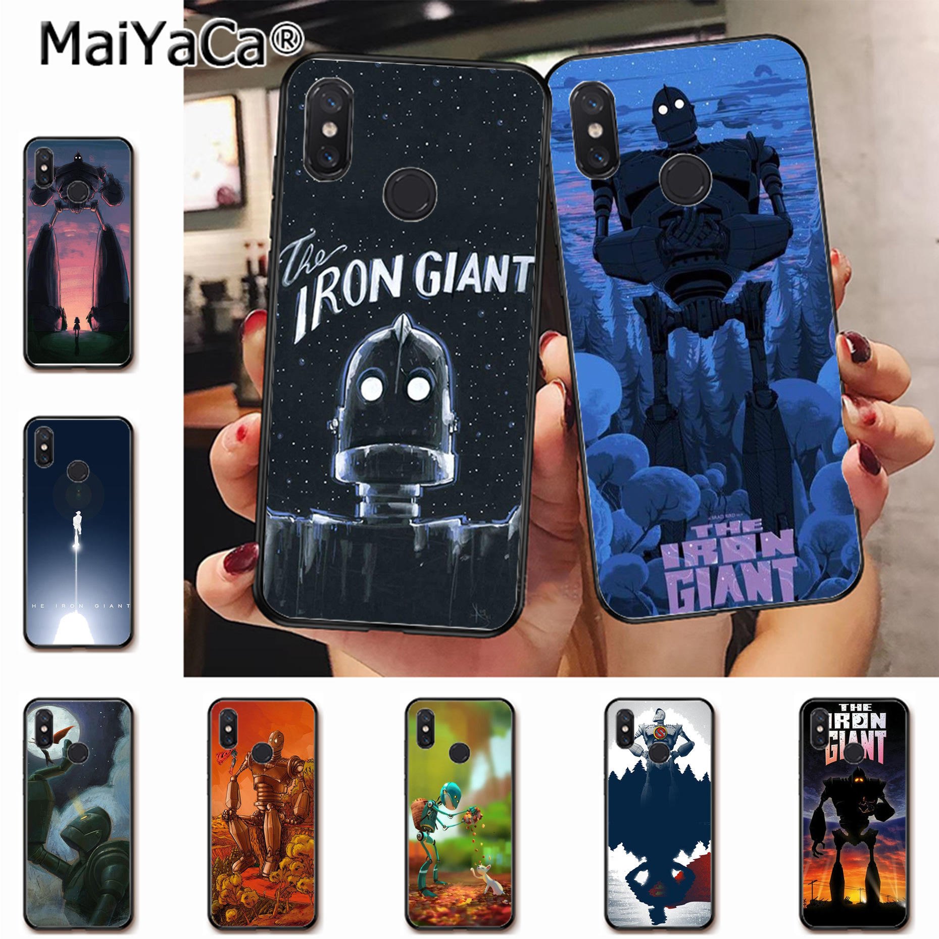 MaiYaCa The Iron Giant 1999 Best Art Ever Advanced Phone Case for xiaomi mi 6 8 se note2 3 mix2 redmi 5 5plus note 4 5 5 case image
