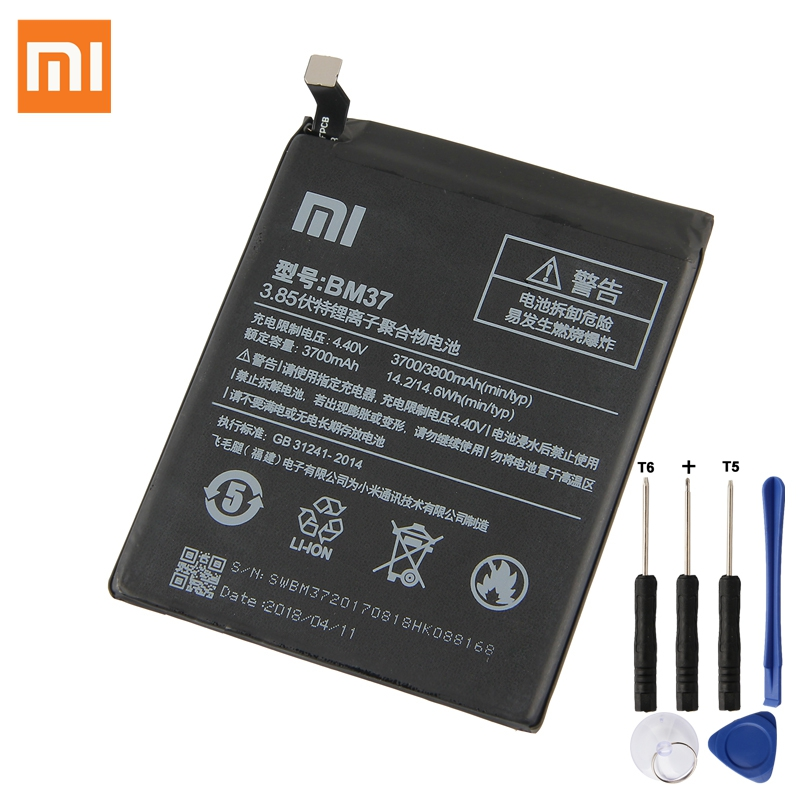 Obedient Bm37 For Xiaomi Mi 5s Plus International Version Cellphone Battery 3800mah High Capacity Pcb Lithium Polymer Battery Mobile Phone Batteries